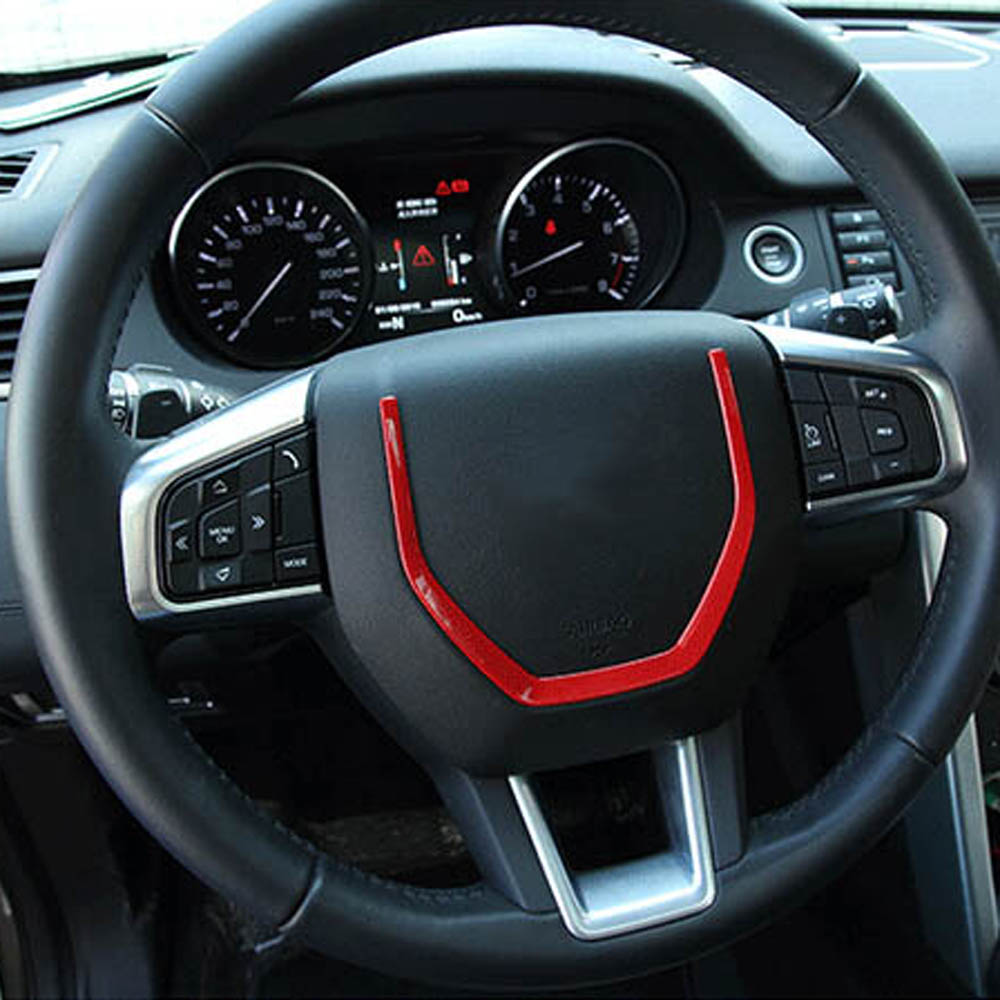 interior Accessories for land rover discovery sport steering wheel decorative cover stikcer trim