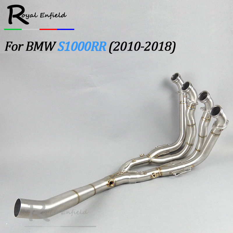 Motorcycle Full Exhaust System Slip-On Pipe Tube For BMW S1000RR S1000 RR 2010 2011 2012 2013 2014 2015 2016 2017 2018