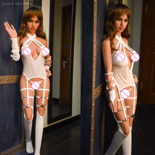 New 158cm Real TPE Silicone Sex Doll For Men Big Breast Big Ass Realistic Vagina Oral Ass Anal Love doll Male Masturbation