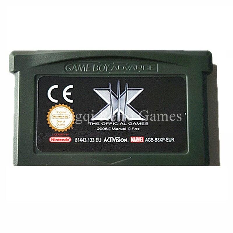 Nintendo GBA Game X Men The Official Game Video Game Cartridge Console Card EU English Language