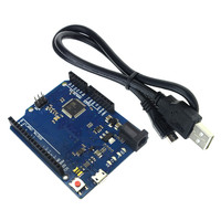 Hot Selling For Arduino Leonardo R3 ATmega32u4 Development Board With USB Cable For DIY Starter