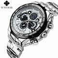 Men Watches Top Brand Luxury 50m Waterproof Japan Quartz Sports Watch Men Stainless Steel Clock Male Casual Military Wrist Watch