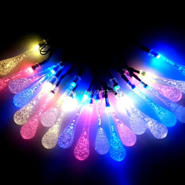 5set 20 LED 5M led solar light leds solar lamps garden outdoor garland lights solar christmas solar lanterns