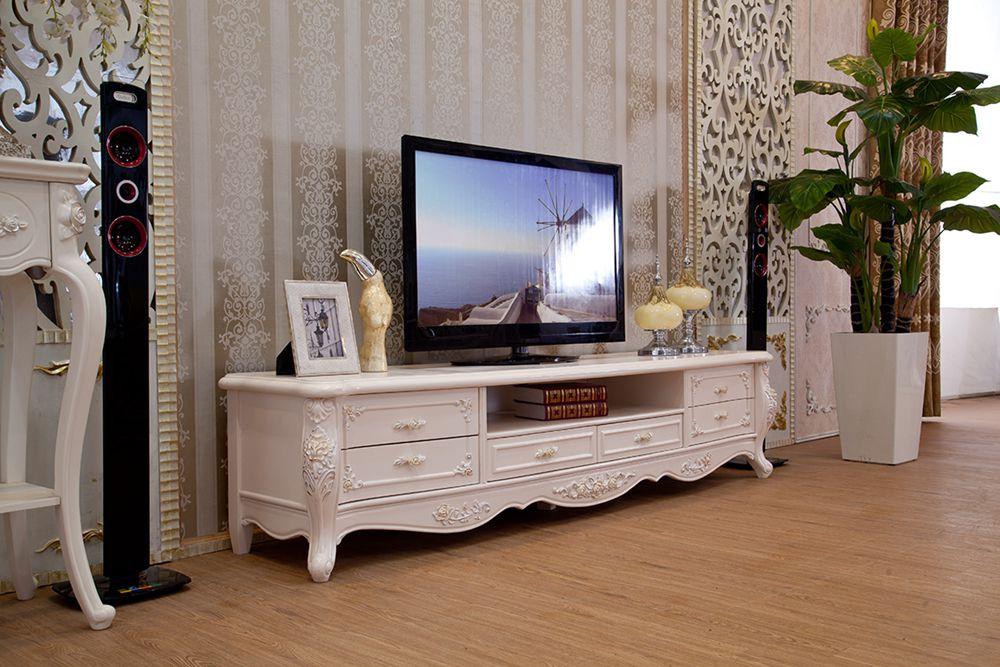 Европейский стиль твердой древесины корпуса телевизора