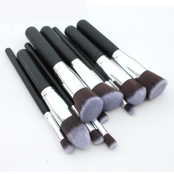 10Pcs/set Pro Makeup Blush Eyeshadow Blending Set Concealer Cosmetic Make Up Brushes Tool Eyeliner Lip Brushes makeup base