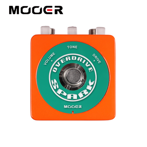 NEW Effect Guitar Pedal /MOOER SPARK OVERDRIVE 80's vintage overdrive tone perfectly suited for Blues  free shipping new effect pedal mooer green mile overdrive pedal 2 overdrive modes excellent sound