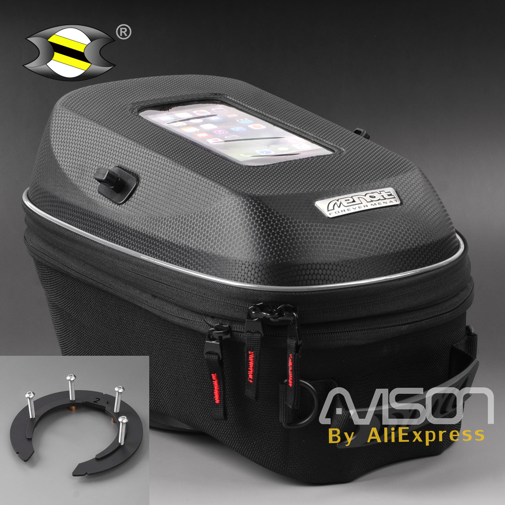 цена Motorcycle Tank Bag Fit for Triumph Street Triple 675 07-15 / Tiger 800 XC 11-14 / Tiger 1050 07-12 / Sprint ST 1050 05-11