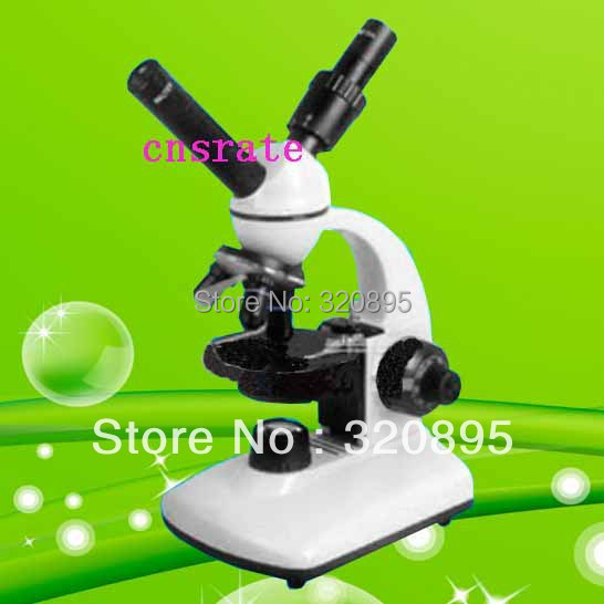 40X-400X Dual Observation Head Laboratory Biological Microscope with Lamp and 90mm Rounded Stage with Paired Clips TXS05-05RBS 40x 400x biological microscope with incandescent lamp for laboratory education