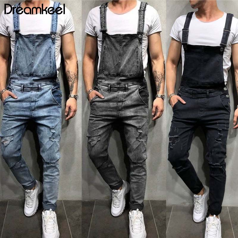 White-5X-Large Ms lily Fashion Mens Casual Overalls