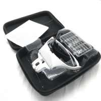 1.0X 1.5X 2.0X 2.5X 3.5X Adjustable 5 Lens Loupe LED Light Headband Magnifier Glass LED Magnifying Glasses with Storage Case