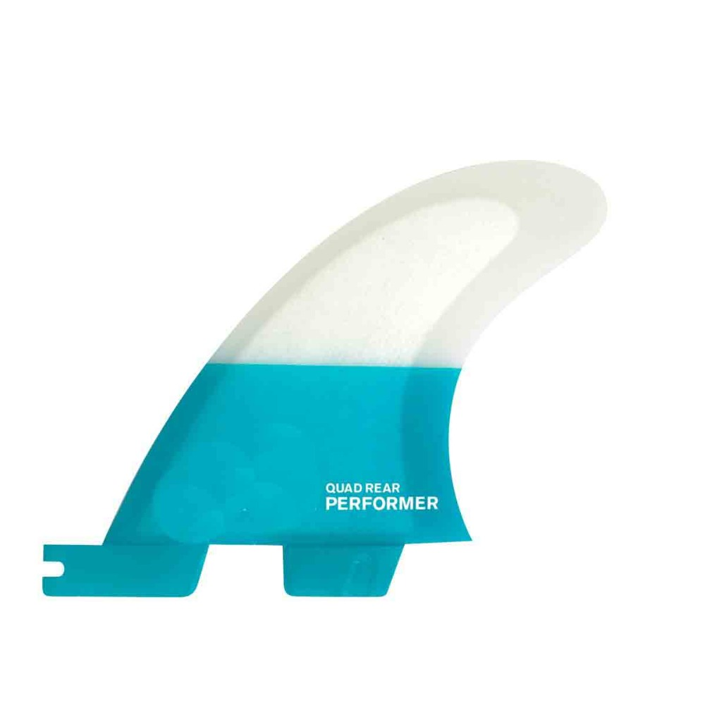 FCS II PERFORMER PC QUAD REAR FINS 2 fin