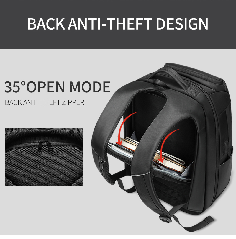 HTB1TUp1XzDuK1Rjy1zjq6zraFXan - Mark Ryden 2019 New Anti-thief Fashion Men Backpack Multifunctional Waterproof 15.6 inch Laptop Bag Man USB Charging Travel Bag