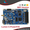 C-Power 51A card Asynchronous video LED Screen controller WIFI Wireless Support Indoor and Outdoor full color led module