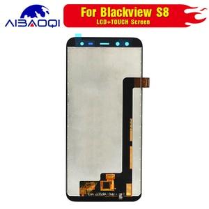 Image 4 - 100% Original Blackview S8 écran LCD + écran tactile assemblée pour Blackview S8 outils + 3M adhésif