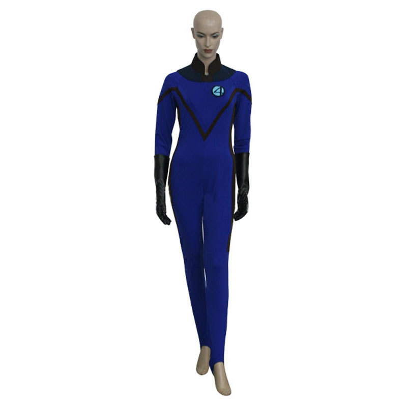 Fantastique 4 invisible femme cosplay costume pour - Femme invisible 4 fantastiques ...