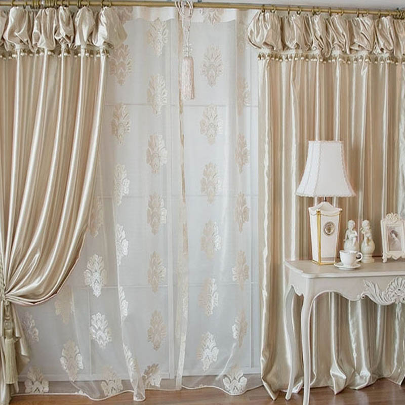 Korean Lanterns Head Curtains For Living Room Beads Curtains Champagne 3  Color Top Quality Bedroom Curtains Window In Curtains From Home U0026 Garden On  ...