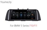 Youmecity 10,2 дюймов Android 4,4 Автомобильное видео Радио для BMW 5 серии F10/F11 2011 2012 2013 2014 2015 2016 Wifi сенсорный Экран