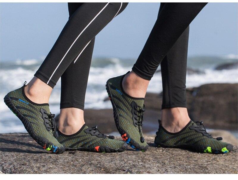 tênis descalços natação do aqua sapatos de mergulho sandálias de pesca