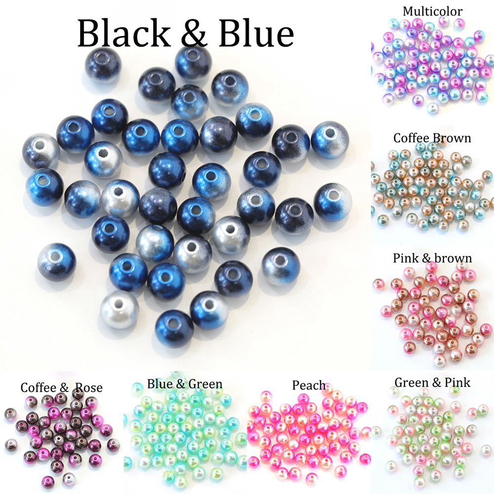 Beads & Jewelry Making Meibeads 20pcs 9*13mm Cream White 1 Hole Faux Imitation Plastic Tear Drop Pearl Beads For Earring Jewelry Making Uf6074 Always Buy Good