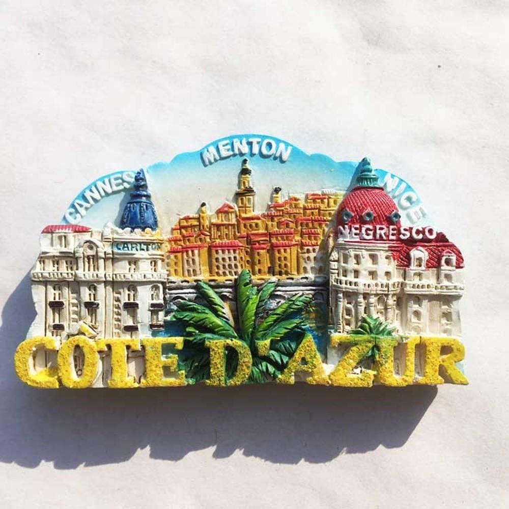 Bordeaux 3D Kühlschrank Magnet Attractions Reisen Souvenir Refrigerator Stickers