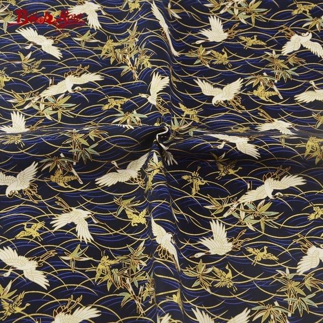 booksew katoen linnen gedrukt dier wassen goud naaien doek thuis textiel tafelkleed tas gordijn kussen zakka