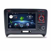 Bosion7 Car DVD Player Android 7.1 4 Core 2 Din Car Stereo System For Audi TT 2006 2011GPS Radio Stereo WIFI Navigation BT OBD2