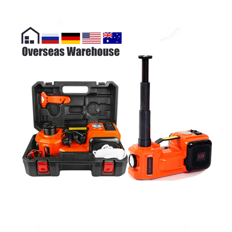 Car Electric Jack Hydraulic Floor 12V DC 5 Ton 11023lb Lift Scissor Jack Repair Tool Auto Emergency Roadside Tire Change Lifting newest 12v automotive electric car jack scissor lift 2 ton lifting jack auto emergency equipment impact wrench