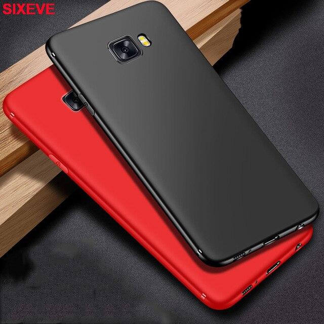 Màu trơn Silicone Mềm Dành Cho Samsung Galaxy Samsung Galaxy S6 S7 Edge Plus Samsung S8 Plus Samsung S9 Plus Điện Thoại di động micro-Ốp mờ