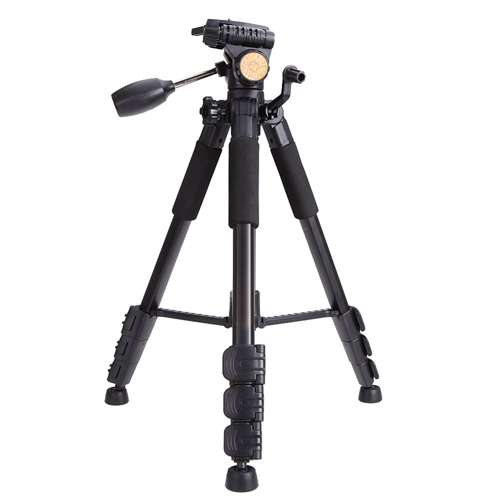 Professional Camera Tripod Aluminum Alloy Tripod  Monopod+Ball Head for Canon Nikon Sony Digital SLR DSLR Fold 50cm Loading 20kg original weifeng wf 6662a ball head camera tripod with carrying bag for canon nikon dslr slr