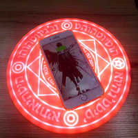 2020 Magic Circle Wireless Charger Qi Wireless Fast Quick Charging Pad for iPhone X XS 8 Samsung Xiaomi Redmi Huawei Honor