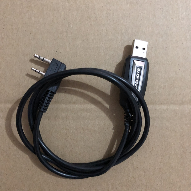 Image 2 - 5R raido program cable TK port USB connector two way radio frequency program cable for baofen gUV 5R 5RE 5RA KD C1-in Walkie Talkie from Cellphones & Telecommunications