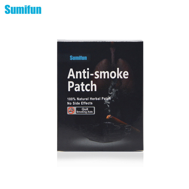 Sumifun 35patches stop smoking anti smoke patch for smoking.