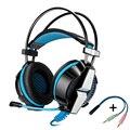 2016 kotion each gs700 gaming headset auriculares para juegos de auriculares con micrófono de luz led para ps4 juegos de pc ordenador portátil