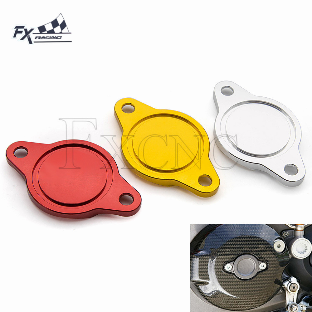 CNC Decorative Motorcycle Engine Oil Filter Cap Cover For Ducati Diavel MTS Monster 696 796 821 1100S/R 1200R/S Hypermotard 1100