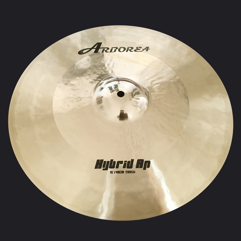 Arborea Hybrid Ap 16 crash Cymbal handmade cymbal arborea hybrid ap 16m crash