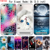 Per il Caso di Xiaomi Redmi 4A 5A 6A Della Copertura Sveglio Della Copertura Per Xiaomi Redmi 5A 6A 4A Caso Molle di TPU Silicone borsa Per Xiaomi Casi di Redmi5a