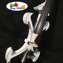 Новая модель с ума-2 песни бренда Art оптимизировать 5 Строки 4/4 Электрический Скрипки#9259