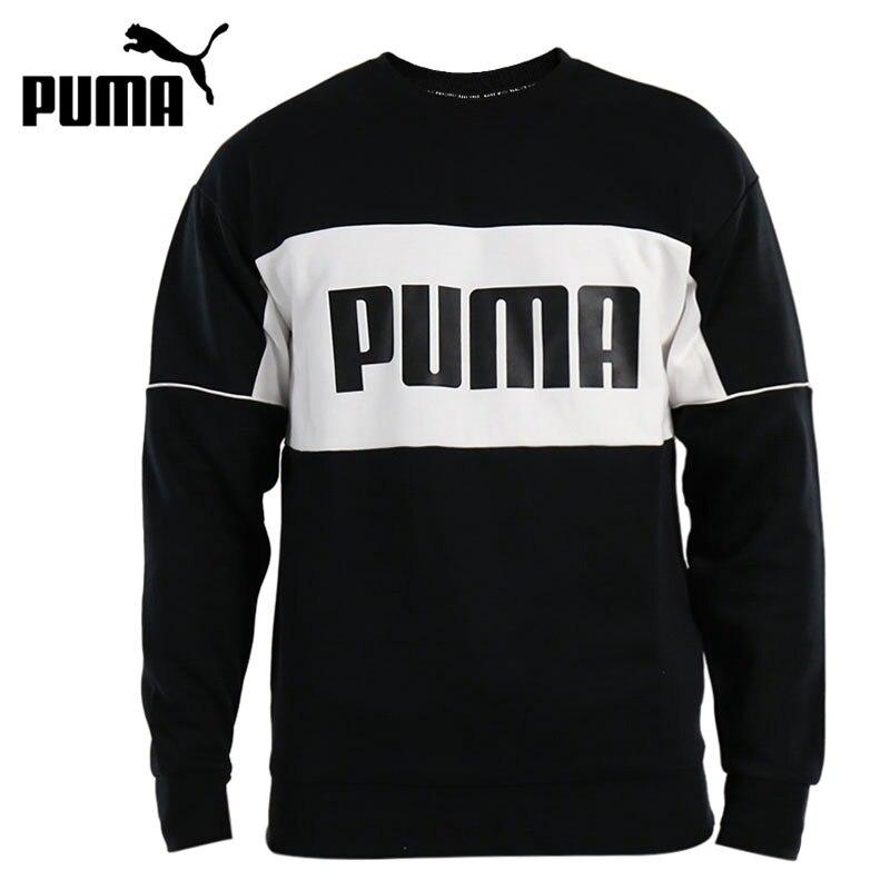 Original New Arrival 2018 PUMA Retro Crew dk Mens Pullover Jerseys SportswearOriginal New Arrival 2018 PUMA Retro Crew dk Mens Pullover Jerseys Sportswear