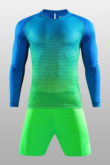 2018 Full set of adult long sleeve football jerseys 5aa6518cf