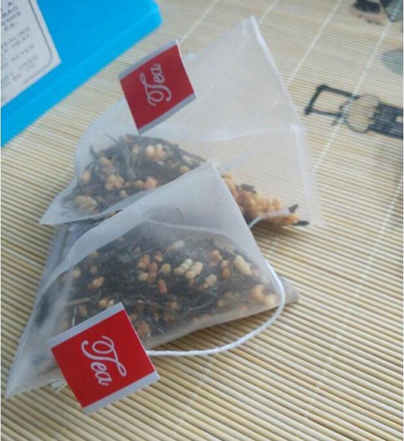 2000pcs lot Nylon Empty Pyramid Tea Bag Tea Infuser New Tea Strainer Teabags