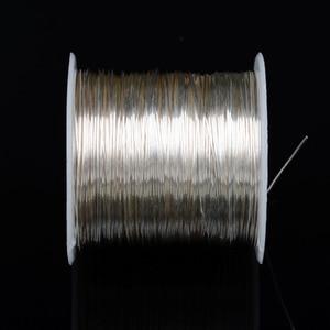 Image 4 - DINWEN 99.998% 高純度固体純銀ハイファイオーディオ DIY ヘッドホンイヤホンケーブル信号線裸線 0.1 ミリメートル 2.0 ミリメートル