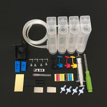 Universal DIY CISS kit 4 color ink tank accessories Replacement for HP 21 22 60 61 56 57 74 75 901 121 300 122 301