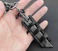 Biker Punk Lobster Trigger Swivel Clasps Sword Keyring Hook car Key chain