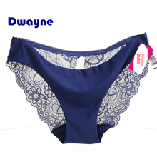 Dwayne S-2XL Hot sale women sexy lace panties seamless cotton breathable panty Hollow briefs Plus Size girl underwear intimates