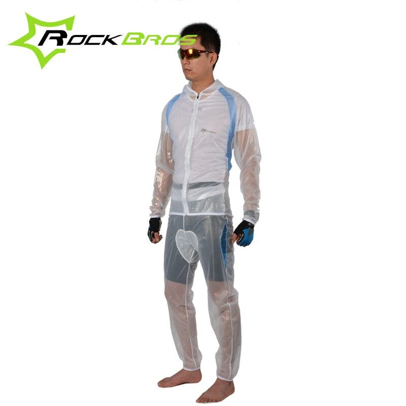 Rockbros 2018 Cycling Jersey Sets Long Sleeve Sets Waterproof Windproof Cycling Clothing Bicycle Bike Raincoat Ropa