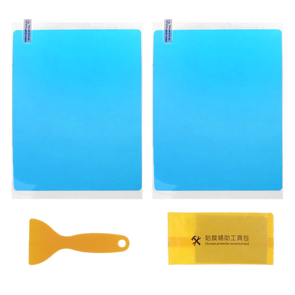 2Pcs Car Side Window Protective Film Anti Fog Membrane Anti-glare Waterproof Rainproof Car Sticker