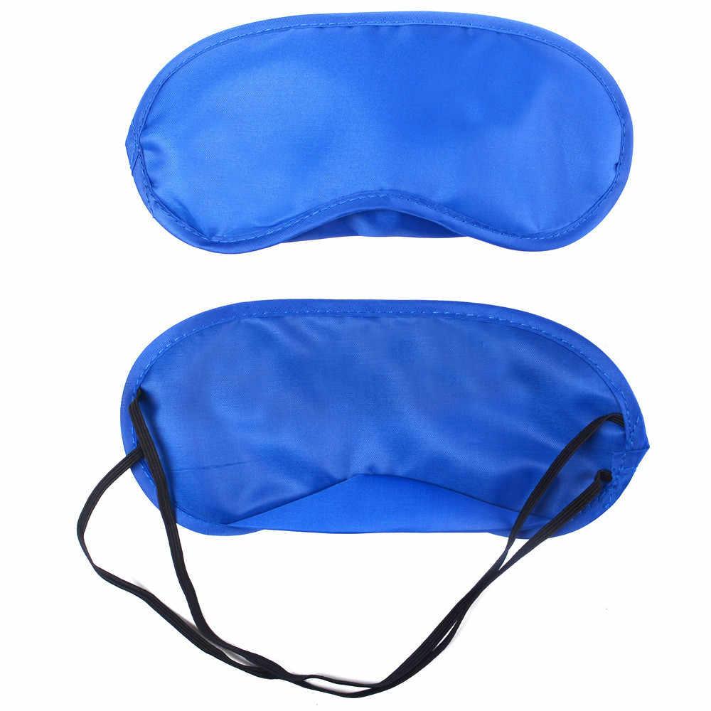 Ipek Taklit Uyku Maskesi Göz Kapağı Ayarlanabilir Bandaj Eyepatch Uyku Gölge Körü Körüne Uyku Gözler gece maskesi