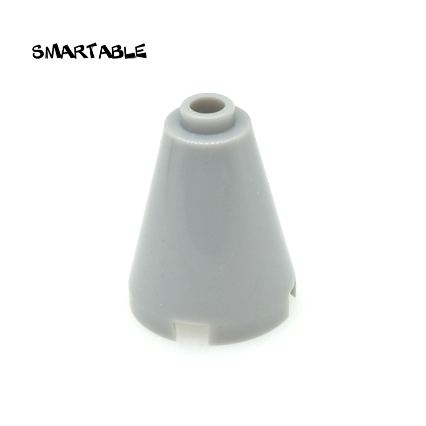 Smartable Brick Cone 2x2x2 Building Blocks MOC Part Toys For Kid Creative Compatible Major Brands Technic 3942c 50pcs/lot