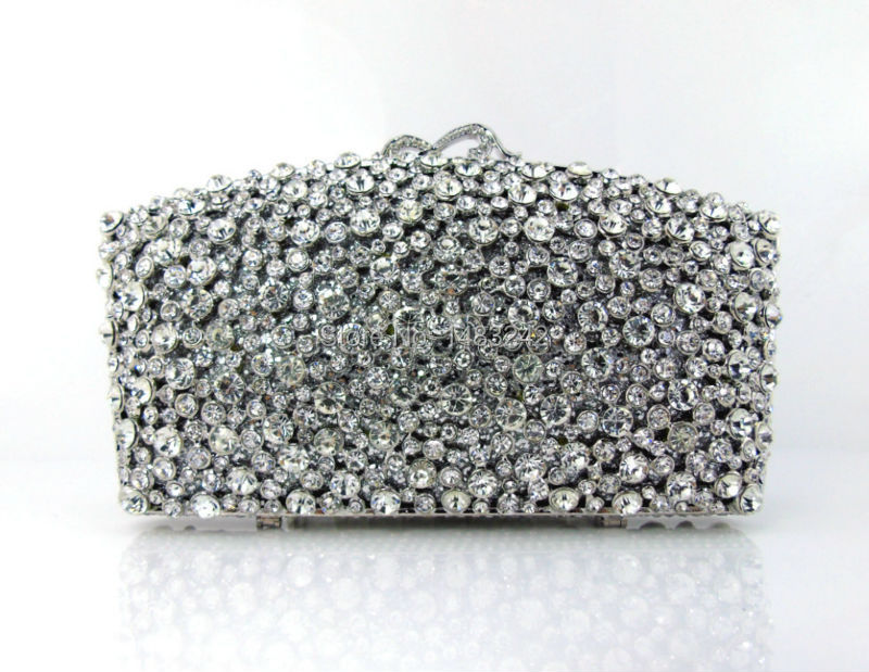 ФОТО GG2 2016 new design hot sale elegant and luxury Rhinestones African Handbag for wedding/party