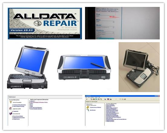 Все данные ремонт программного обеспечения pro v10.53 и Митчелл по требованию с Компьютерной Диагностики для легковых и грузовых автомобилей HDD